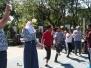 Antusias siswa dan siswi SMAN 20 Bandung dalam memperingati hari kemerdekaan